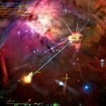 Starfarer screenshot with pretty explosions!