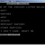 3 - Service Selection