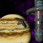Gas Giant, Station and Ship