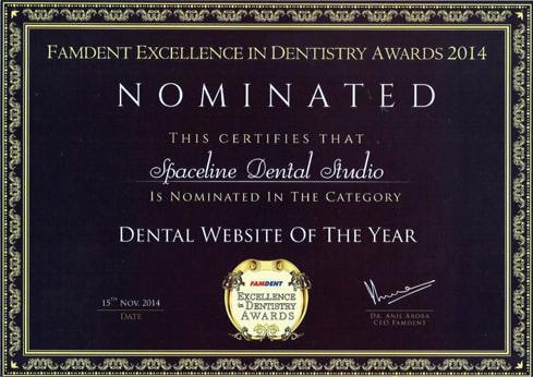 Top Dental Clinics in Mumbai Award