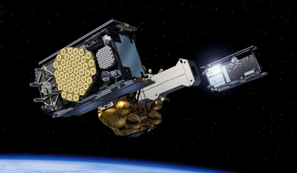IOV satellites ejected from Fregat upper stage (Credits: ESA).