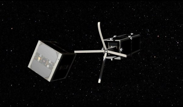 Active debris removal satellites like the proposed CleanSpace One will be limited in their targets by debris ownership issues (Credits: EPFL).