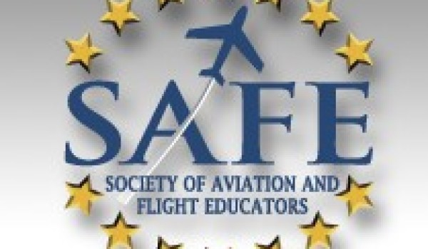 Logo of the Society of Aviation and Flight Educators (Credits: SAFE).