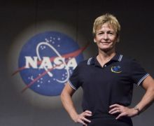 Peggy Whitson, outgoing Astronaut Chief (Credits: Billy Smith II,Chronicle/HC).