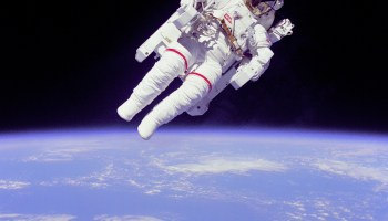 Astronauts in space are subject to high radiation doses that can cause serious harm to their health (Credits: NASA).