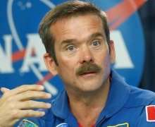 Canadian astronaut Chris Hadfield (Credits: Peter Cosgrove/Associated Press).