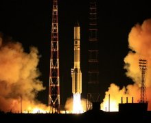 The December 8 launch of yet another ill-fated Proton-M with Breeze-M upper stage (Credits: RIA Novosti).