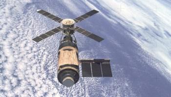 NASA's Skylab program paved the way for the International Space Station (Credits: NASA).