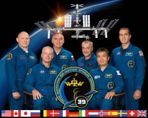 ISS Expedition 39 is in orbit now. It is the first to be commanded by a Japanese astronaut (Credits: NASA).