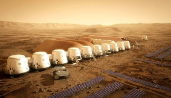 Mars One vision of Mars colonization