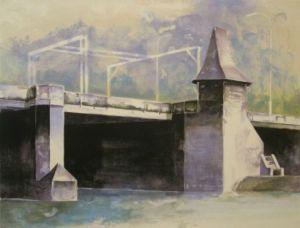 Reineveldbrug 74 x 56 cm litho