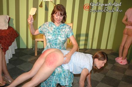 strict otk spanking
