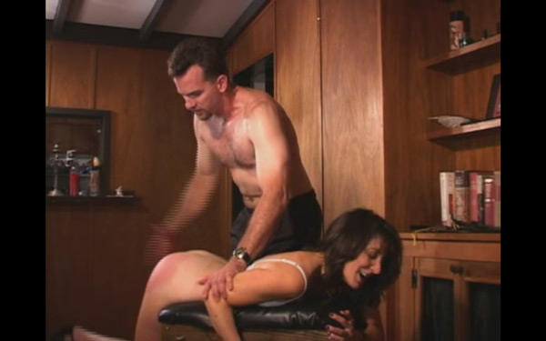 Erica Scott nude in The Spanking Professor at Shadow Lane