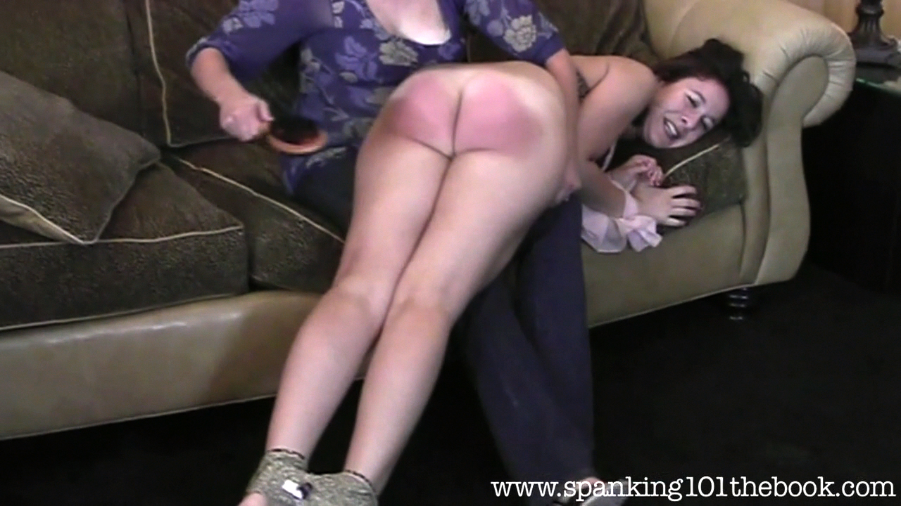 very long belt spanking