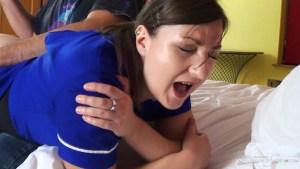 Nurse Pandora Blake Spanked and Strapped