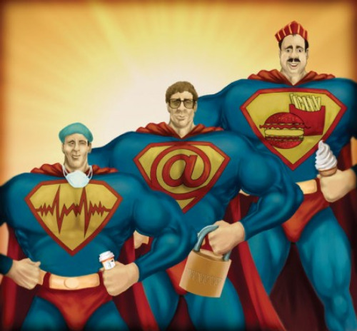 Credit Crunch Heroes by Sasan Saidi