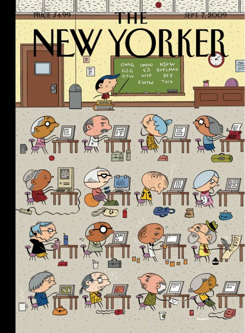 Ivan Brunetti for the New Yorker