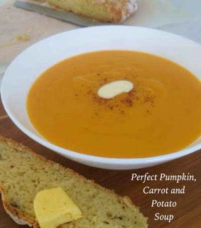 ... also like the recipe for Perfect Pumpkin, Carrot and Potato Soup