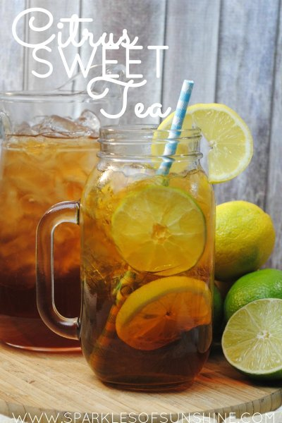 Citrus Sweet Tea - Sparkles of Sunshine