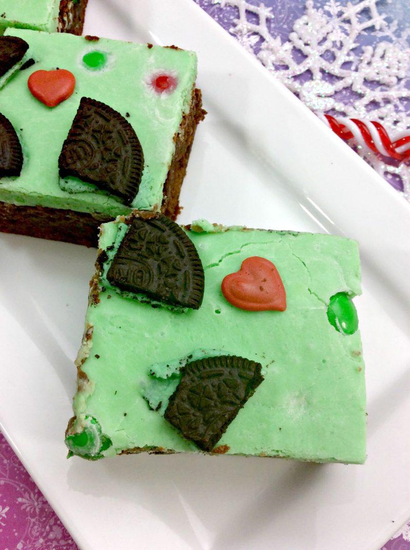 Grinch Brownies 2