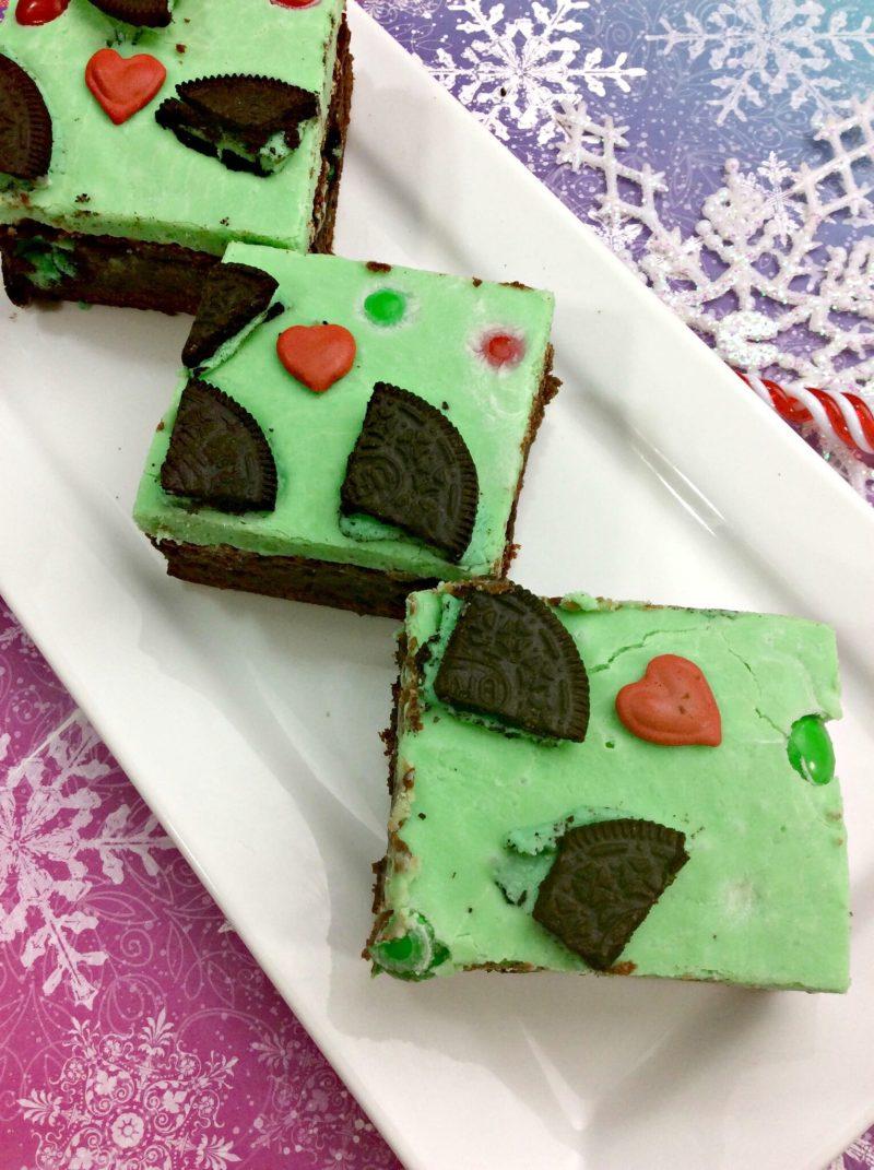 Grinch Brownies 3
