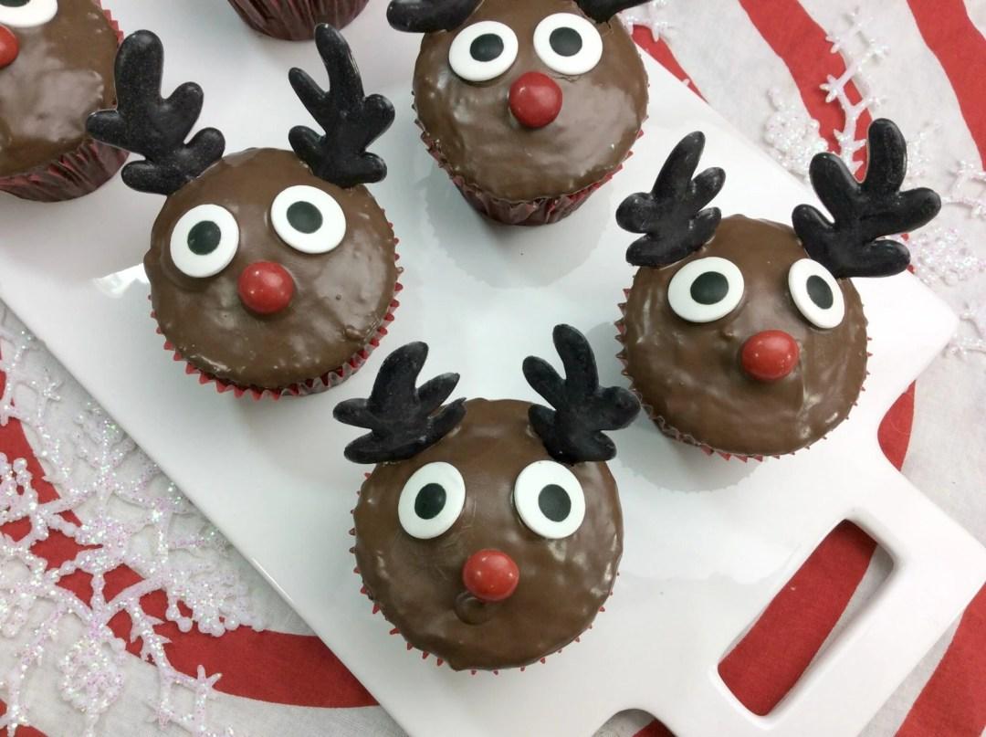 Rudolph Cupcakes 6-7