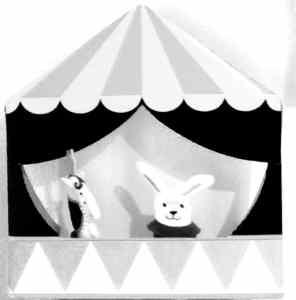 Ikea puppet theatre