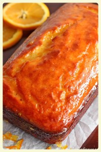 French orange yogurt cake. Featured by Special Learning House. www.speciallearninghouse.com.