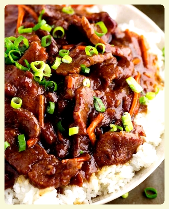Slow-cooked Mongolian beef. Fabulous family recipes to try this weekend.