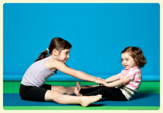 Seesaw Yoga Pose. Featured by Special Learning House. www.speciallearninghouse.com.