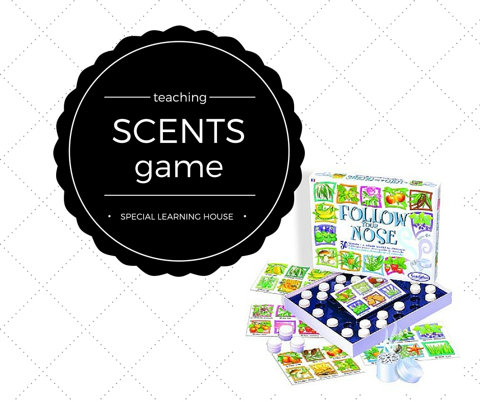 Teach autistic children scents