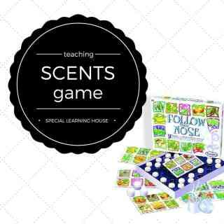 Teach autistic children scents