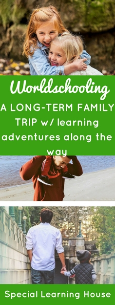 "Worldschooling? The Worldschooling movement involves taking your family on ""edventures"" : a longterm trip with learning adventures along the way. 