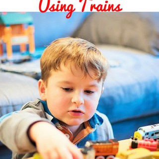5 Ways to use trains to teach your child with autism to communicate