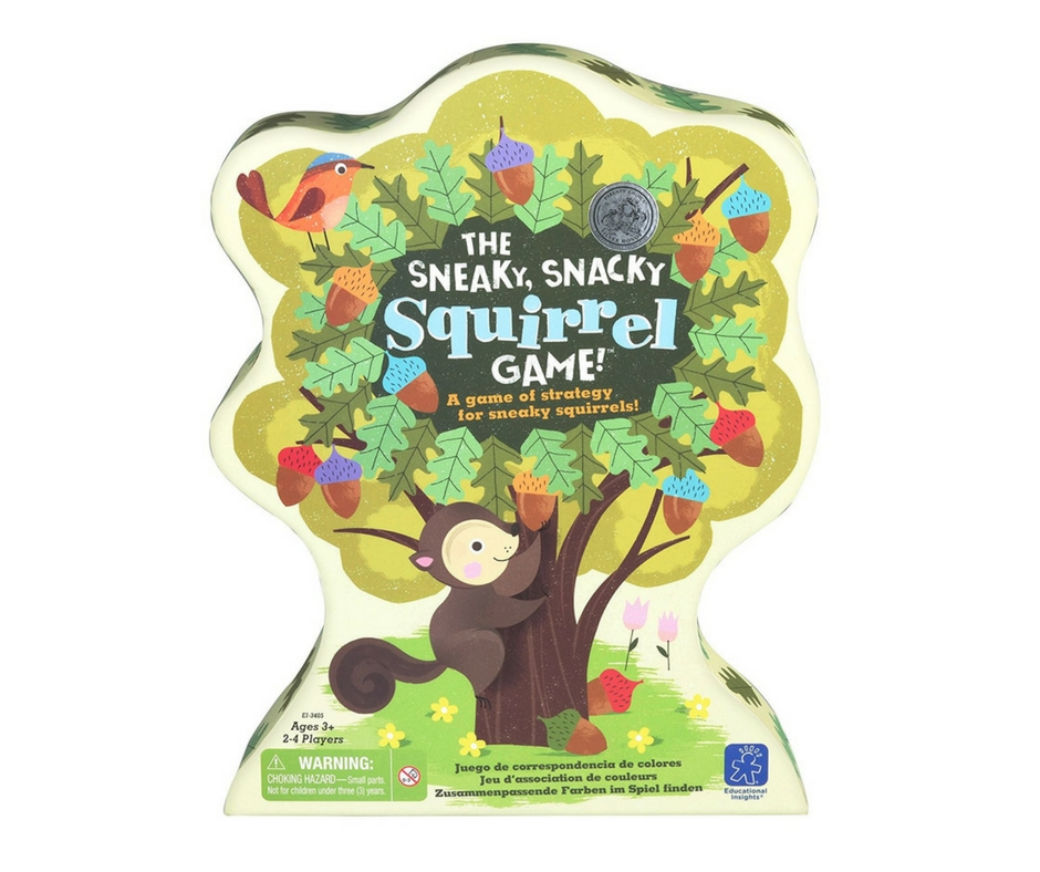 Autism Gift Guide Sneaky Snacky Squirrel Game. speciallearninghouse.com