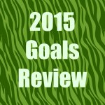 Goal review of 2015