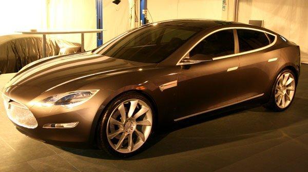 2009 Tesla Model S Concept Car Pictures