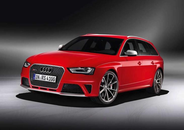 Audi RS 4 Avant/Standaufnahme