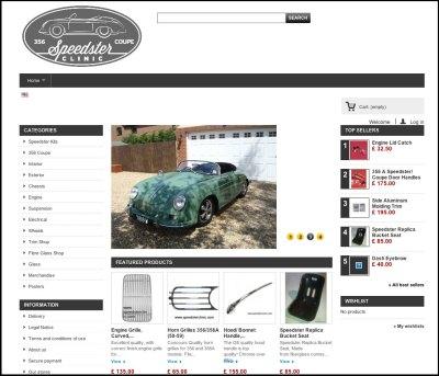 Speedsters.com - Directory of 356 Speedster replica suppliers