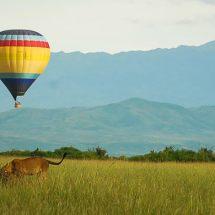 Balloon Safari in Queen Elizabeth National Park