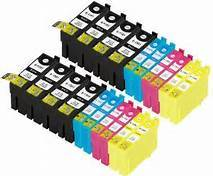 FREE SHIPPING! Epson T127120-T127420 20-Pack Combo (8Blk/4 CYM) $6.00ea