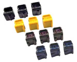 Xerox Phaser 8400 12-pack combo of 3 black, 3 yellow, 3 cyan, 3 magenta compatible solid ink sticks with up to 3400 page yield
