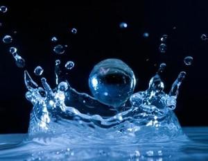 Droplet of water. (Photo credit: examiner.com)