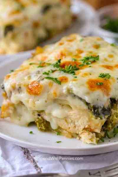 Chicken Lasagna - Spend With Pennies