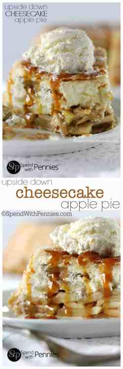 Remarkable Pennies Apple Pie Cheesecake No Bake Apple Pie Cheesecake Tasty Upside Down Cheesecake Apple This Really Is Most Cheesecake Upside Down Cheesecake Apple Spend