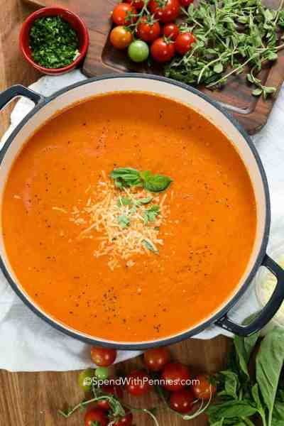 Fresh Tomato Soup  > Quick & EASY