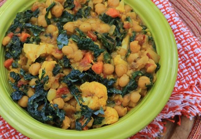 Chana Masala with Vegetable