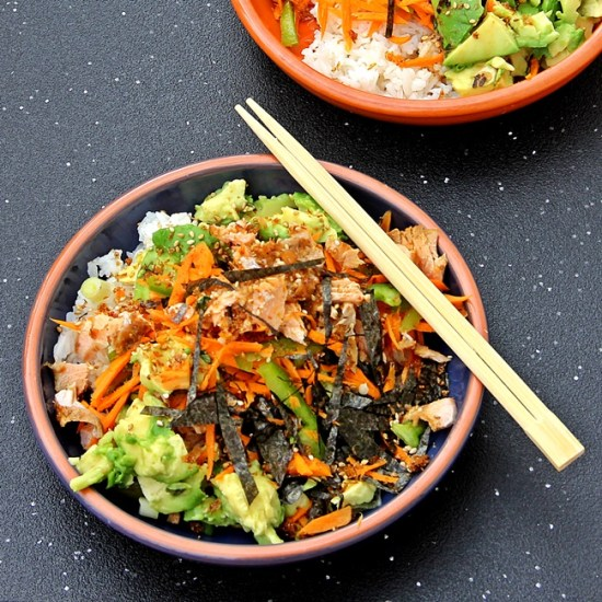 Sushi Bowls – (Inspired by Aadi)