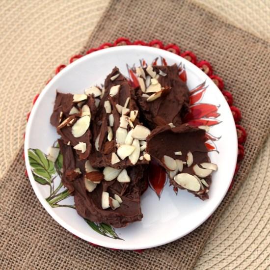 Candy Cane Tea Bark with a Spice Variation