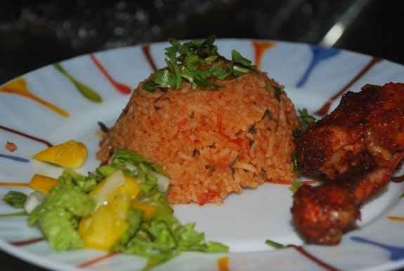 Tomato Rice - Spicy Kitchen